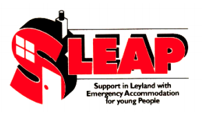 The first SLEAP logo.