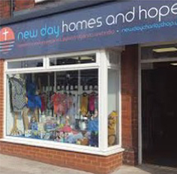 New Day Homes and Hope Charity Shop